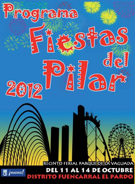 Programaci n oficial de las fiestas del barrio del pilar for Piscina municipal barrio del pilar