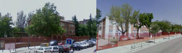 Los colegios Enrique Granados y Vasco Nuñez de Balboa