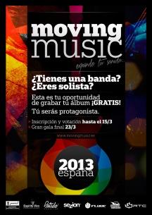 Cartel MovingMusic 2013