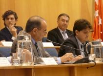 Foto de los tres en Pleno